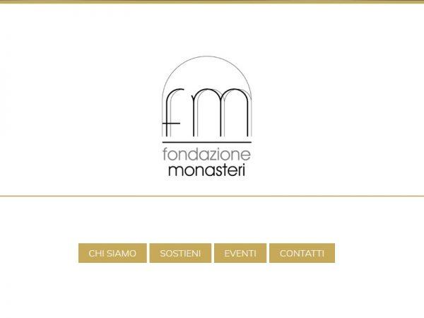 Nascita e scopo della Fondazione Monasteri